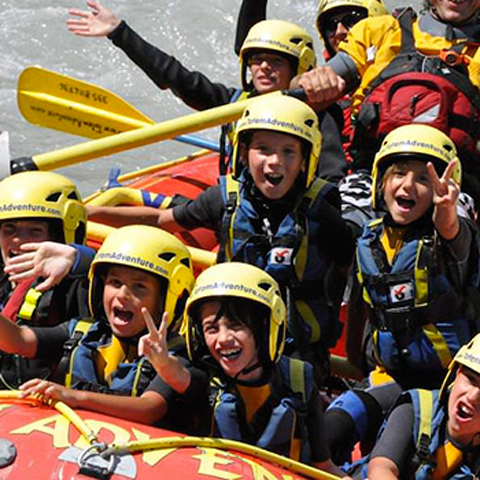 RAFTING - SPECIAL FOR KIDS